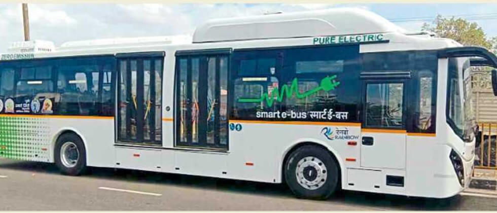MSRTC Electric buses