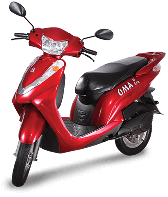 oma star electric scooter
