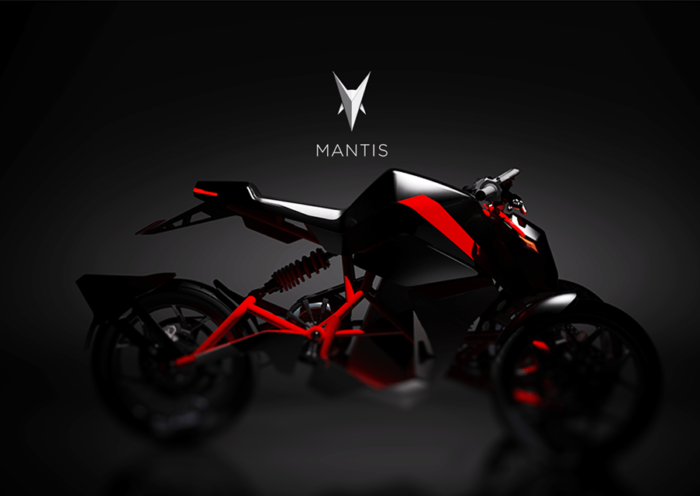 Mantis electric motorcycle