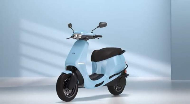 ola electric scooters colour